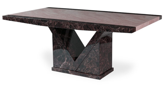 Jedilna miza iz marmorja