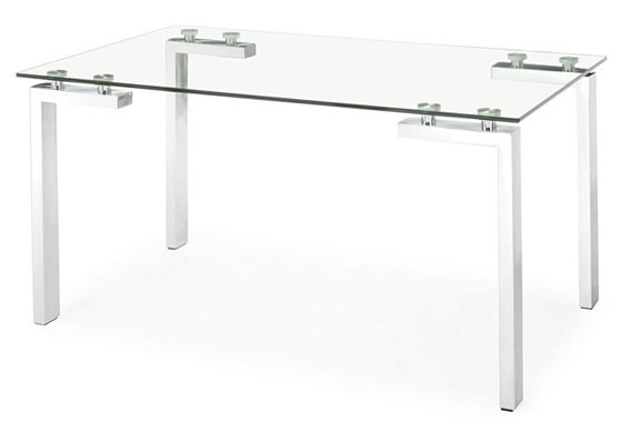 Steklena jedilna miza