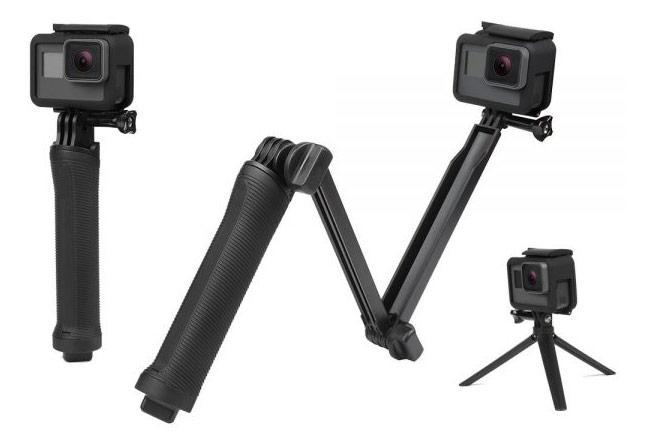 GoPro dodatek - 3-selni selfie monopod