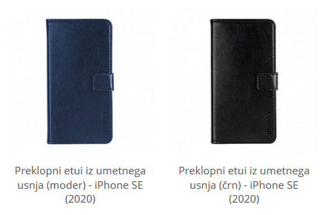 Preklopni etui za iPhone SE