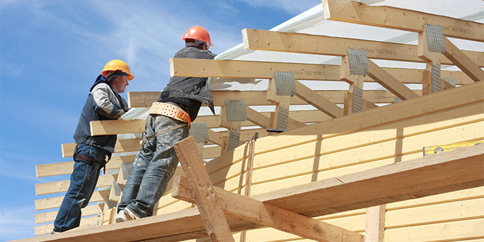Gradnja lesene hiše